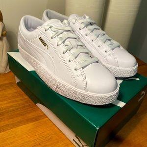 Puma Love Tumbled white sneaker size US 7